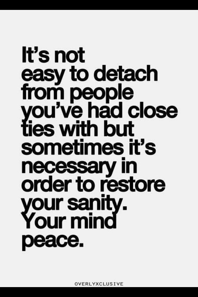 Quotes About Distancing Yourself From Family