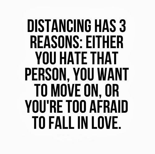 Quotes About Distancing Yourself From Others