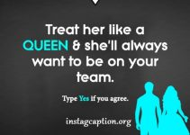 treat her like a queen quote