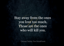 Top 30 Staying Away From Someone You Love Quotes