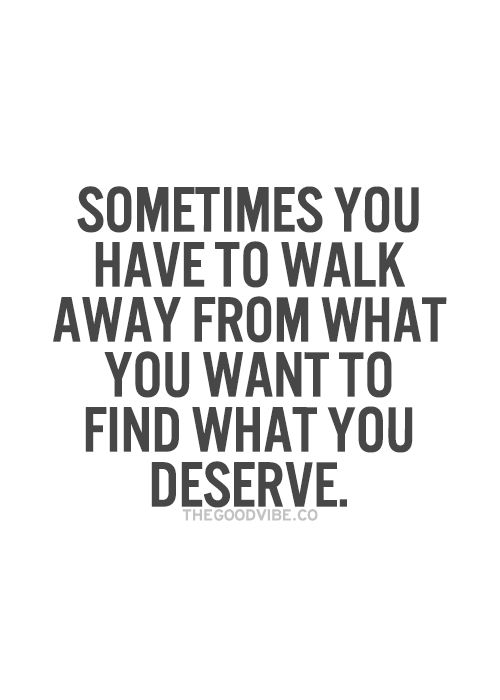 walk away quotes for him